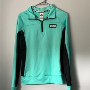 Mint green Victoria's Secret PINK sweatshirt